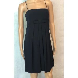 Moschino Navy Bow Front Dress 6